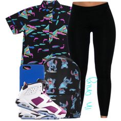 ○Mixed Berry Sea? by jstrib on Polyvore featuring polyvore, fashion, style, Disney, Henri Bendel and NIKE