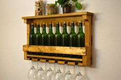 Hey, I found this really awesome Etsy listing at https://www.etsy.com/listing/193759896/rustic-wine-rack-shelf-storage-8-bottle