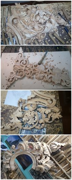 Резьба по дереву. Иконостасы :: #woodcarving Wood Carving Art, Wood Art, Plaster Art, Got Wood, Stencil Painting, Sculpture Clay, Architectural Elements, Wood Design, Wood Turning