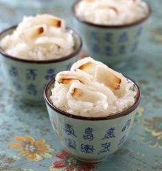 Riz gluant au lait de coco et litchis, la recette d'Ôdélices : retrouvez les ingrédients, la préparation, des recettes similaires et des photos qui donnent envie !