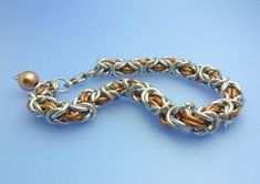 Byzantine and Box Chain Maille Tutorial | Follow this chain maille tutorial and get your start in making chain maille jewelry.