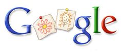 Google Doodle: Mother's Day 2007
