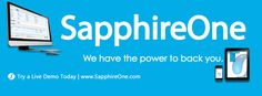 SapphireOne is an Australian company distributing globally providing an all-inclusive resource planning software with applications for managing business enterprises (ERP).  Let's check out https://www.sapphireone.com/