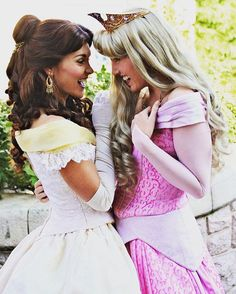 """The inside jokes between Belle and Aurora are strong.... """"The bond is strong with these ones""""-Vader"""