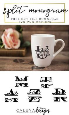 Free svg and jpeg initial alphabet wreath cut files – Artofit Cricut Monogram, Free Monogram, Cricut Fonts, Cricut Vinyl, Svg Files For Cricut, Free Svg Files Monogram, Cricut Air, Monogram Letters, Free Svg Fonts