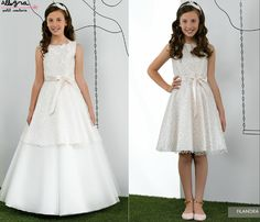 MIQUEL SUAY VESTIDOS COMUNIÓN 2015 ALLEGRA Girls First Communion Dresses, Holy Communion Dresses, Girls Party Dress, Baby Dress, Miniature Bride Dress, Bridesmaid Dresses, Prom Dresses, Tutus For Girls, Tulle Dress