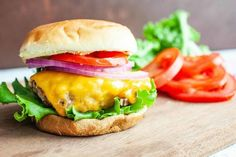 How to Grill the Best Burgers! We tested all sorts of methods for mixing, shaping, and grilling backyard burgers, and even talked with grilling expert Steven Raichlen! Here is our take on the perfect grilled burger. Grilling Recipes, Beef Recipes, Chicken Recipes, Cooking Recipes, Burger Mix, Good Burger, Perfect Grilled Burgers, Well Done Burger, Meals
