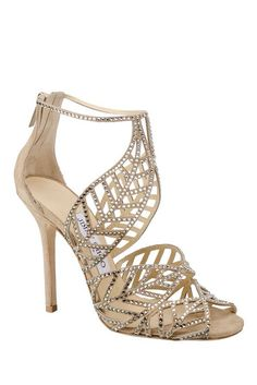 Jimmy Choo. These look beautiful and painful. I'll settle for looking at them.