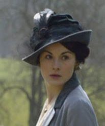 You could certainly wear Lady Mary's hat today.