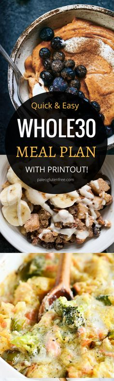 31 days of easy whole30 recipes for breakfast, lunch, and dinner! Here it is! A quick, easy, and delicious meal plan for an entire month! Hit your goal with this easily customizable meal plan. Best whole30 lunch recipes all in one place. 31 days of whole30 lunch recipes! Whole30 meal plan that's quick and healthy! Whole30 recipes just for you. Whole30 meal planning. Whole30 meal prep. Healthy paleo meals. Healthy Whole30 recipes. Easy Whole30 recipes. Best paleo shopping guide. Easy whole30…