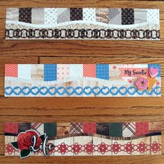 Get a Taste of Textile Scrapbooking Borders – Creative Memories Blog Scrapbook Borders, Scrapbook Titles, Scrapbook Embellishments, Scrapbook Sketches, Scrapbooking Layouts, Scrapbook Cards, Wood Scrapbook Paper, Wedding Borders, Craft Projects For Adults