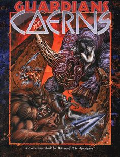 GUARDIANS OF THE CAERNS: The sourcebook of septs and caerns that shows the daily lives of werewolves -- and what they're fighting for.
