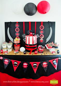 ninja-cake-&-sweets---Ninja-Party-by-Fete6