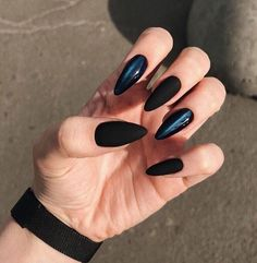 30 Charming And Sexy Matte Nail Designs You Ll Love In 2019 Page 11 Of 32 Nail Ideas Matte Black Nails Matte Nails Coffin Nails Sexy Nails Charming Nails Matte Coffin Nails Matte Black Nails, Coffin Nails Matte, Black Nail Art, Stiletto Nails, Acrylic Nails, Brown Nails, Blue Nails, Black Widow Nails, Matte Blush