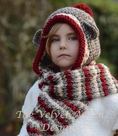 Knitting PATTERN-The Stockleigh Monkey  12/18 by Thevelvetacorn