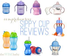 7+ months in the making - our sippy cup reviews! We'd love to hear your favorite!