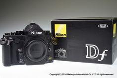 NIKON Df Body Black 16.2 MP Digital Camera 7756 Shutter Excellent+ #Nikon