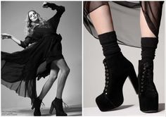 how to wear jeffrey campbell litas - Buscar con Google