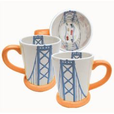 Bay Bridge Mugs