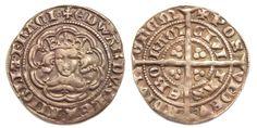 King Edward III half groat York mint - Edward III of England - Wikipedia, the… Edward Iii, Plantagenet, Celtic, Coins, Van, York, Powder, Death, History