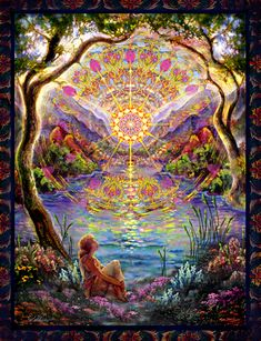 The Visionary---We are all One! Love and Light ------------------------------------------------------------- Art of Willow Arlenea