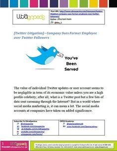 [ Twitter Litigation ] - Company...