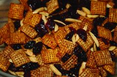 Breakfast trail mix ... a quick and easy recipe that you can make in your microwave.