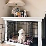 Most current Pictures dog care,dog grooming tips,dog ideas,dog nail trimming,dog ear cleaner Ideas A safe place for your dog A dog kennel is an excellent selection to supply your dogs protected leave Metal Dog Kennel, Diy Dog Kennel, Diy Dog Bed, Kennel Ideas, Dog Kennels, Dog Beds, Diy Dog Crate, Crate Bed, Large Dog Crate