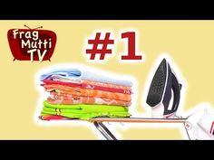 Richtig bügeln (Grundlagen) Teil 1 - Frag Mutti TV - YouTube