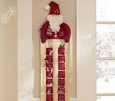 Santa Advent Calendar | Pottery Barn Kids