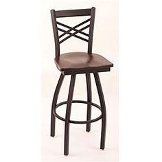 Cambridge Black Solid Wood 25-Inch Counter Swivel Stool with Dark Cherry Maple Seat - Overstock™ Shopping - Great Deals on Bar Stools