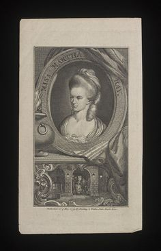 Miss Martha Ray (Print) | V&A Search the Collections
