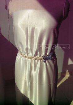 Hey, I found this really awesome Etsy listing at https://www.etsy.com/listing/124569503/bridal-party-fashion-manmade-pearl-belt