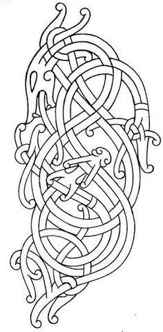 viking art styles - Google Search