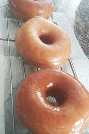 Copycat Krispy Kreme Original Glazed Donuts : 23 Steps (with Pictures) - Instructables Donut Glaze Recipes, Water Roux, Light Golden Brown, Donut Holes, Krispy Kreme, Whole Eggs, Brown Butter, Copycat Recipes, Rolling Pin