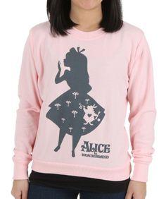 Women's Alice in Wonderland Shadow Alice Shirt