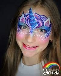 Bildergebnis für kinderschminken einhorn
