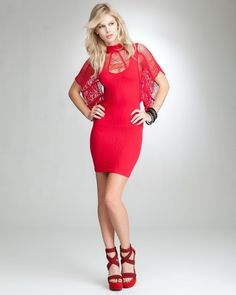 Lady in Red #dresses #fashion #women #lady #girl #feminine #womanly #elegant #dressup #couture #street #style #beauty #highheels #boots #buisiness #homecoming #readytowear #redcarpet #catwalk #model #nyfw #runway #vintage #photography