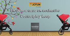 Llévate un cochecito Casualplay Loop con los colores de moda