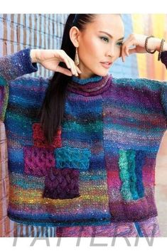 Noro Magazine to you by Knitting Fever Inc. Knitting Yarn, Baby Knitting, Knitting Patterns, Crochet Patterns, Stitch Patterns, Freeform Crochet, Knit Crochet, Knitting Magazine, Pulls