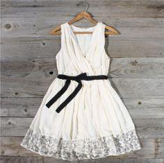 Gathered Chiffon Dress