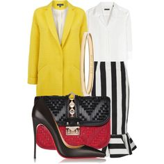 A fashion look from February 2015 featuring Robert Friedman blouses, Warehouse coats and Kaelen skirts. Browse and shop related looks.