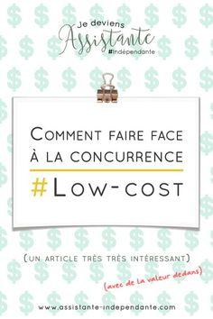 """[article] Je deviens Assistante #indépendante : Comment faire face à la concurrence """"low-cost"""" ?"""