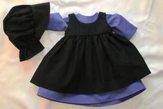 Amish dress for 18 inch doll