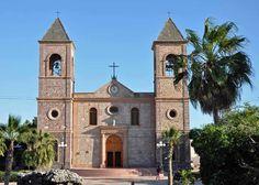 Two names were given in succession to the Jesuit mission at Todos Santos in southern Baja California Sur, Mexico: Santa Rosa de las Palmas, and Nuestra Señora del Pilar de la Paz. Description from snipview.com. I searched for this on bing.com/images