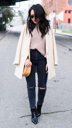 #OOTD: ASOS High-Waisted Skinny Jeans