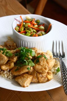Toasted Cashew Chicken with Scallions & Fresh Cilantro