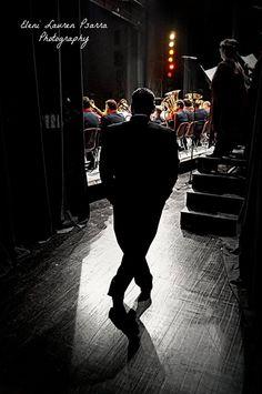 Dancing backstage