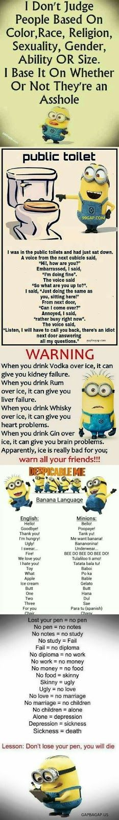 #FunnyMemes Collection By The #Minions