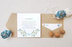 Os 35 convites de casamento mais elegantes para anunciarem o vosso casamento! Image: 16